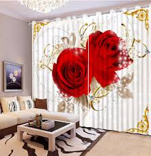 online get cheap roses curtain aliexpress com alibaba group