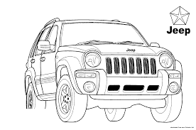 jeep coloring page eson me