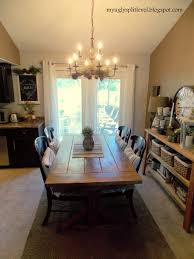 my ugly split level dining room finally dining room ideas