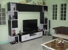living led tv showcase in green wall latest led tv showcase