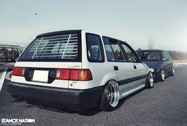subaru legacy wagon stance honda civic shuttle wagon archive ae86 driving club ae86dc