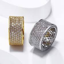 best stone rings images 2018 best classic design wedding band jewelry gold color cubic jpg