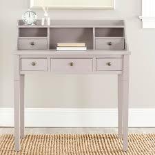 Secretary Writing Desk by Safavieh Landon Writing Desk Grey Hayneedle