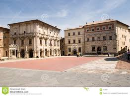 Montepulciano Italy Map by Montepulciano Square Stock Image Image 5320971