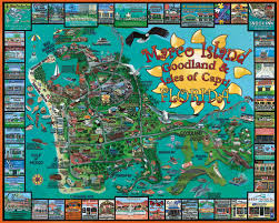 marco island florida map marco island fl scratch dent jigsaw puzzle puzzlewarehouse com