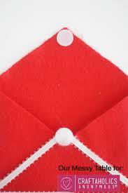 easy felt envelope for valentine u0027s day valentine u0027s day craft