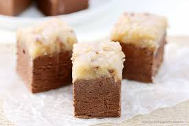 german chocolate fudge love bakes good cakes