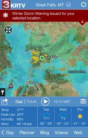 Bozeman Montana Map by Download The New Stormtracker Weather App Kbzk Com Continuous