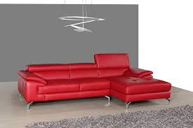 Red Sectional Sofas A973b Stylish Italian Leather Sectional Sofa In 3 Colors