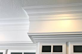 how to add crown molding to kitchen cabinets have 80 u0027s bulkheads in your kitchen not anymore make your old