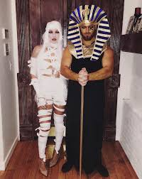 King Tut Halloween Costume 31 Creative Couples Costumes Halloween Stayglam