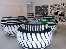 designer neumã nster alfa img showing chairs made out of tires decoration