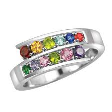 day rings personalized 53 best mothers day ring images on rings