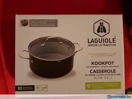 batterie de cuisine laguiole batterie de casserole et poêles laguiole a vendre 2ememain be