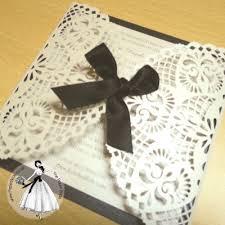wedding invitations belfast lace invite paper wedding invitations