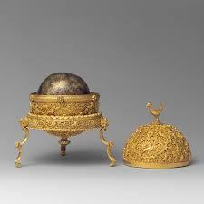 Gray And Gold Goa Stone And Gold Case Work Of Art Heilbrunn Timeline Of Art
