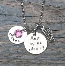 remembrance jewelry baby of an angel necklace remembrance necklace miscarriage
