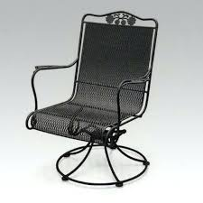 Metal Rocking Patio Chairs Swivel Patio Chairs Home Depot High Back Rocker Sling Metal Images