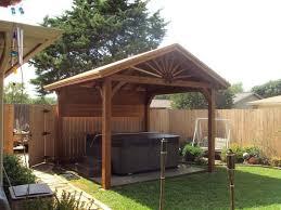 download free standing wood patio covers garden design
