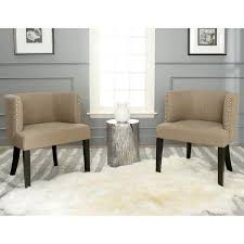lola grey tub chair