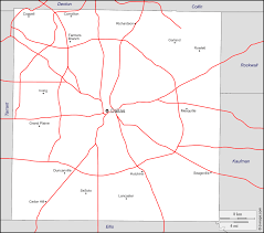Blank Map Of The Usa by Dallas County Free Map Free Blank Map Free Outline Map Free