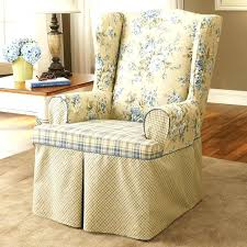 reclining wing chair slipcover armchair covers medium size of back