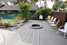 Deck Firepit Pit In Deck Search This House Pinterest