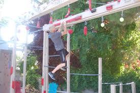 Backyard Ninja Warrior Course 4 St George Residents Take On Nbc U0027s U0027american Ninja Warrior