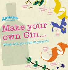 make your own gift card make your own gin gift card