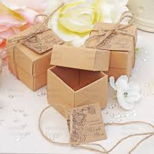 wedding boxes rustic vintage shabby chic wedding favour boxes with tags