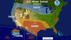Alaska Temperature Map by Noaa Winter Forecast Illinois State Climatologist
