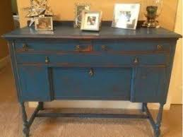 distressed buffet table foter