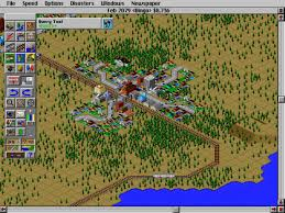 R Train Map Commuter Village In Simcity 2000 Simcity