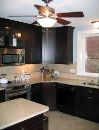 astounding venetian gold granite kitchen backsplash featuring l
