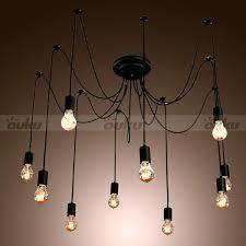 Artistic Chandelier Edison Light Bulb Chandelier U2013 Engageri