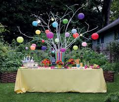 Backyard Birthday Party Ideas Backyard Party Ideas With Simple And Full Of Party Supplies And