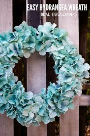 hydrangea wreath easy hydrangea wreath real housemoms