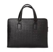 designer aktentasche bv luxus taschen designer leder männer aktentasche weben