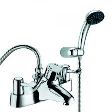 deva lever 3 bath shower mixer dlt tsm 106 deck mounted chrome deva lever action 3 inch thermostatic bath shower mixer tap chrome