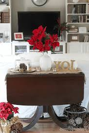 how to decorate your living room for christmas trays for coffee