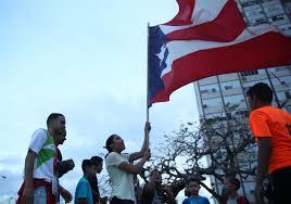 Puertorican Flag Slow Arrival Of Hurricane Aid Revives Statehood Debate In Puerto