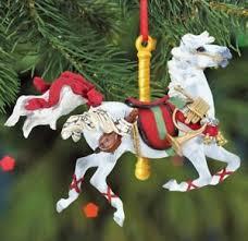 breyer carousel ornament ebay