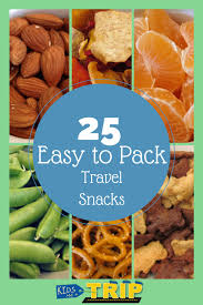 Indiana travel packs images 25 easy to pack travel snacks travel snacks road trips and snacks jpg