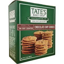 tate s cookies where to buy tate s bake shop chocolate chip cookies 21 oz