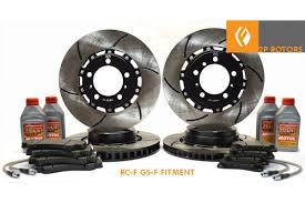 lexus is300 rear brakes rc f 2 p rotors kit