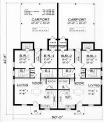 duplex j942d floor plan rental property ideas pinterest