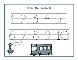 free math coloring sheets coloring page 2 number tracing 1 10