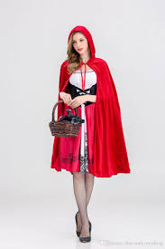 Motorcycle Rider Halloween Costume Dreamgirl Women U0027s Red Riding Hood Costume Halloween Cosplay