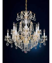 Schonbek Pendant Lighting Schonbek 1596 30 Inch Wide 12 Light Chandelier Capitol