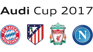 logo audi audi cup 2017 bayern against liverpool teams confirmed fc
